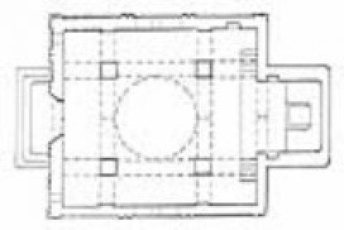 پلان کلیسای شوغاگات مقدس
