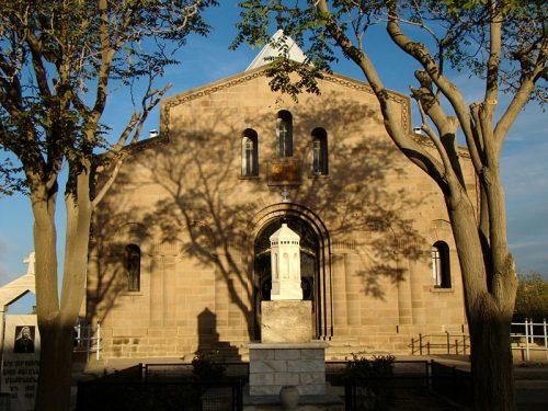 نمای خارجی کلیسای شوغاگات مقدس