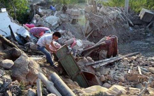 زلزله ورزقان