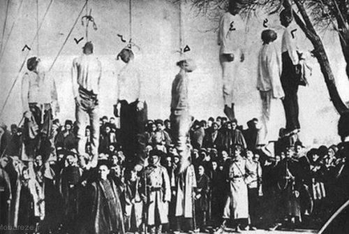 اعدام مجاهدان توسط روسها