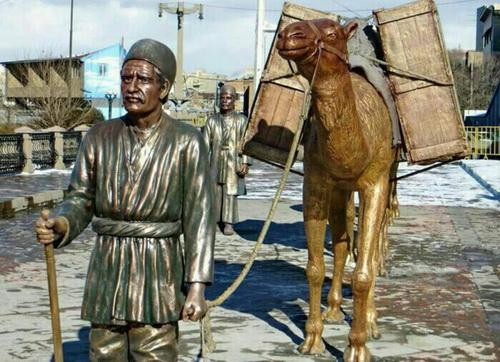ساربان تاجر تبریزی