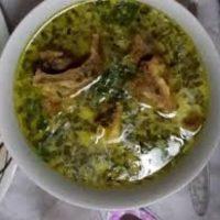 سوزی شورباسی (شوربای تره)