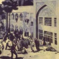 حضور مأموران شاه در مدرسه طالبیه / ۲ فروردین ۱۳۴۲
