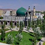 پارک مفاخر تبریز ؛ نمایشگاه دائمی مجموعه ای از اولین تابلو موزائیک سنگ ها / گالری تصاویر