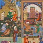 نگارگری دیوان حافظ بر مبنای مکتب تبریز