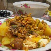 قورما شورباسی ؛ غذای مقوی و خوشمزه برای نسل گذشته