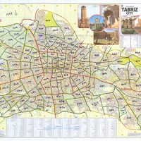 کدپستی نواحی محدوده کلانشهر تبریز
